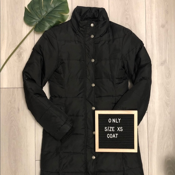 Only Jackets & Blazers - Long Puffer Jacket (XS-Black)